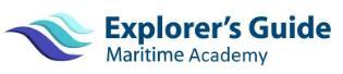Explorer's Guide Maritime Academy